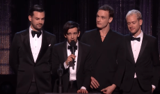 The 1975 Address Misogyny During Brit Awards Acceptance Speech